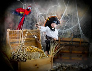 Charmed children's charity calendar pirate set.