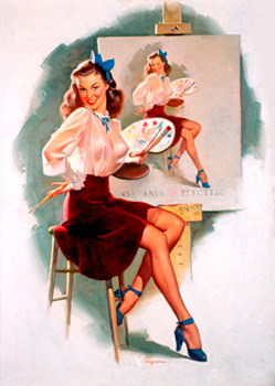 Pin Up Photo by Gil Elvgren