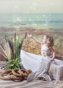 Mermaid Children's Limited Edition Session at Shine Photo.