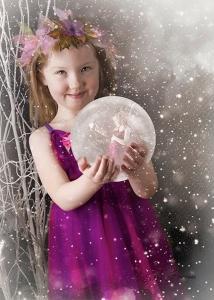 Shine Photo Snow Globe LE