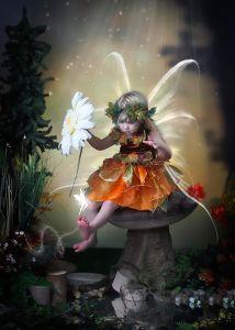 Fall Fairy Portrait