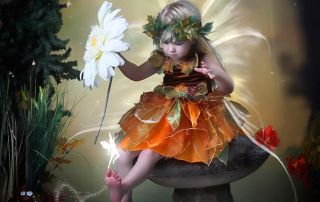 Fall Fairy Portrait