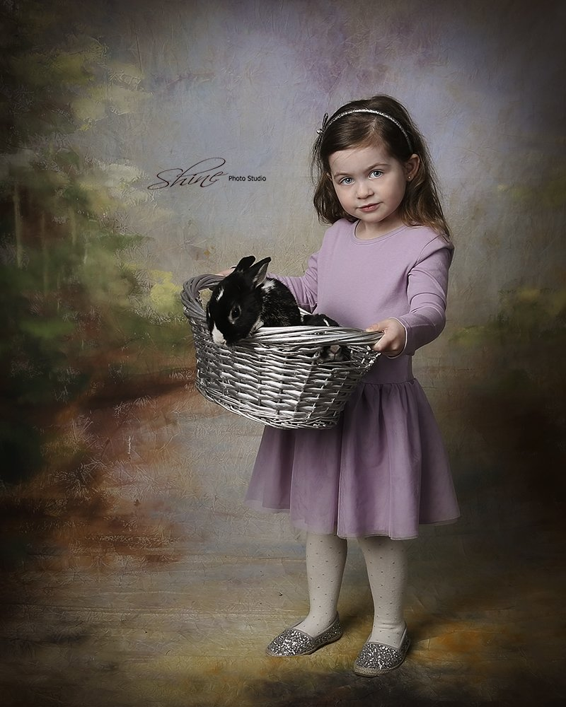 Easter Bunny Limited Edition Portrait