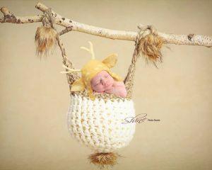 Heirloom Newborn Artwork at Shine Photo