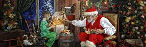 Shine Photo Studio and Santa Mike.