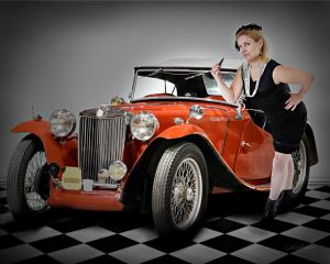 Pin Up Roadster