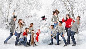 Winter Family Fine Art