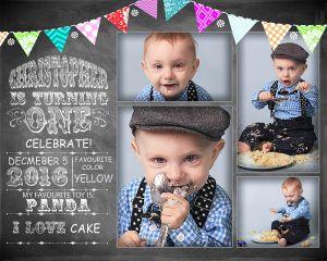 Cake Smash Collage at Shine Photo